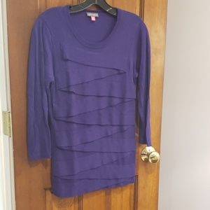 Vince camuto 3/4 sleeve sweater